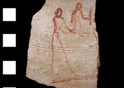 Cerámica. 8,4 x 5,5 cm. Reino Nuevo, dinastía XVIII