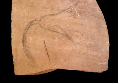 Cerámica. 7 x 8,8 cm. Reino Nuevo, dinastía XVIII