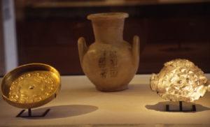 Platos de Djehuty en el Museo del Louvre