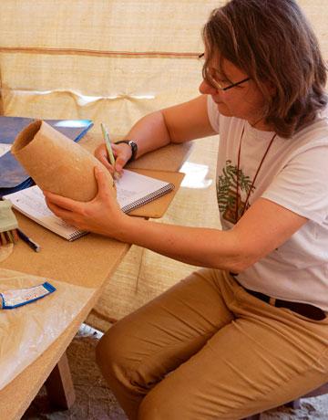 Bettina Bader | Proyecto Djehuty