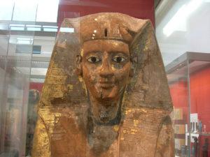 Ataúd del rey Nubkheperra Intef en el Museo Británico