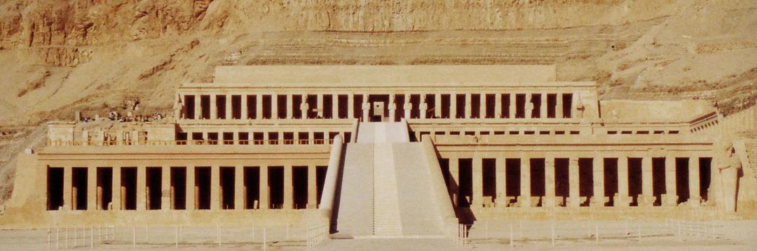 Las construcciones de Hatshepsut