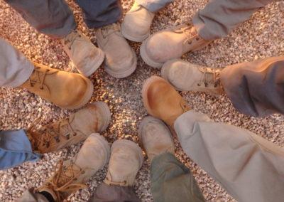 Panamá Jack es uno de los patrocinadores del proyecto y nos ha regalado botas a los miembros más veteranos del Proyecto Djehuty.