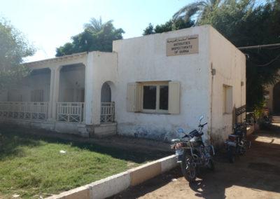 """El """"taftish"""", la oficina del servicio de Antigüedades en el West Bank."""