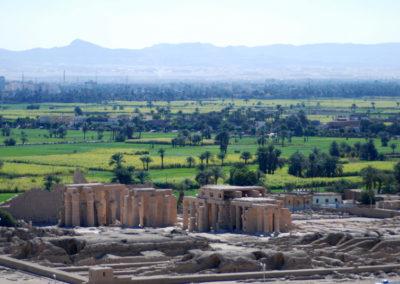 Vista del Rameseum.
