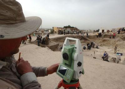 Leica Geosystems nos acompaña un año más en la excavación.
