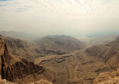 El valle paralelo se conoce como el Valle del color.