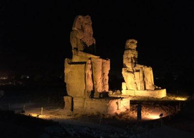 Los colosos de Memnón nos dan la bienvenida al West Bank.