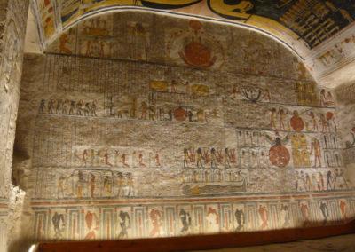 Cámara sepulcral de la tumba de Ramsés VI.