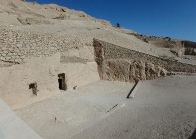 Entrada a la tumba de Rekhmira.